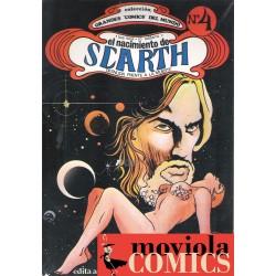 El nacimiento de Scarth....