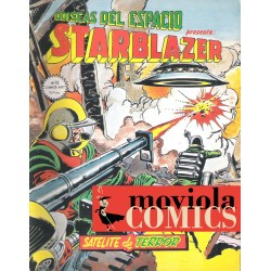 STARBLAZER Nº 10: SATÉLITE...