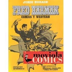 FRED HARMAN – COMICS Y WESTERN